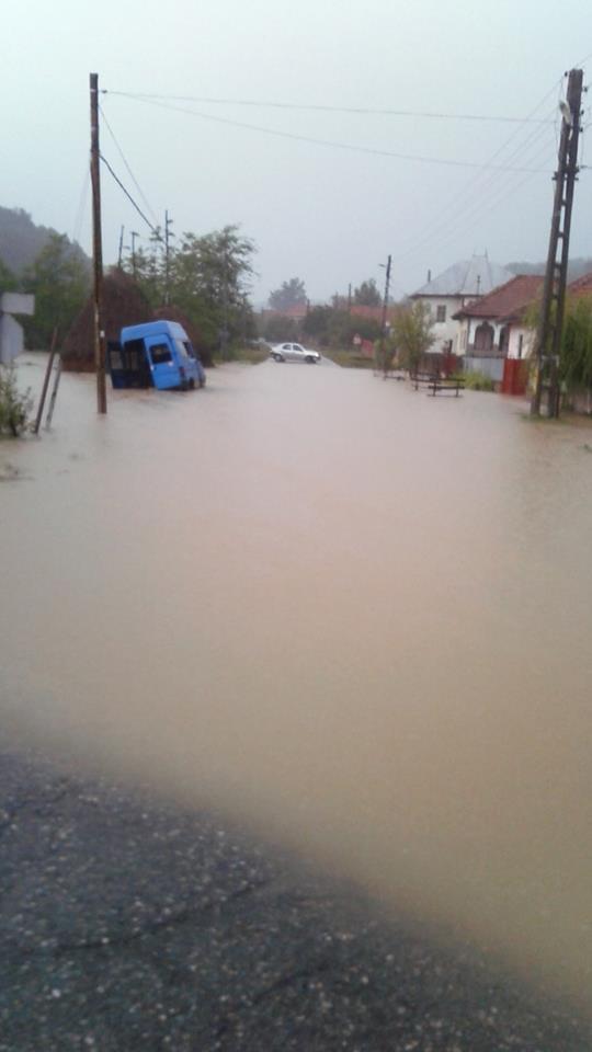 Cod Galben de inundaţii în Gorj