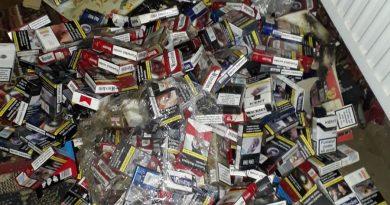 Contrabandă cu tutun la Motru