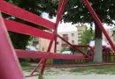 Copil nenorocit într-un loc de joacă la Bumbeşti-Jiu
