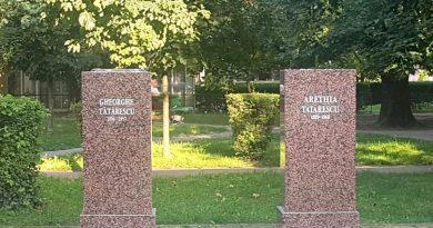 Busturile soţilor Tătărescu au ajuns subiect de alba-neagra