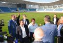 Noul Stadion Municipal intră în administrarea orașului Târgu Jiu și va fi inaugurat pe 25 octombrie